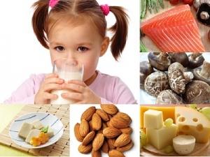 Những điều cần chú ý về thực phẩm của trẻ